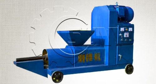 The Energy Saving Charcoal Rod Making Machine