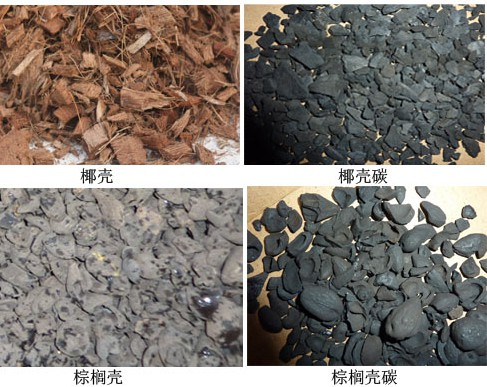 Coconut shell carbonization machine