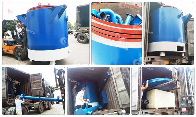 Charcoal Carbonization Furnace delivered to Botswana