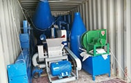 Charcoal Production Line of the Sudan Customer Delivered