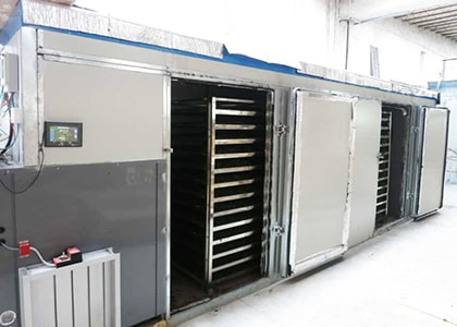 Cabinet Type Drying Machine