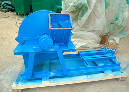 Wood Branch Crusher